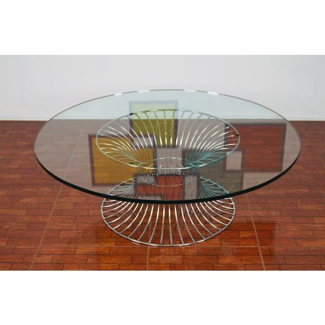 Vintage Chrome Coffee Table - Image 3 of 7