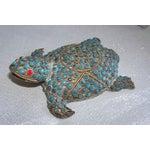 Image of Vintage Neiman Marcus Tortoise W/ Turquoise Beads