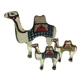 Abraham Palatnik Acrylic Camels - Set of 3