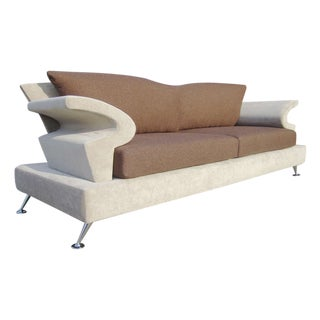Sculptural Memphis Style Sofa by B&B Italia