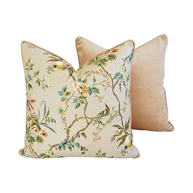 Image of Large Custom Brunschwig & Fils Pillows - Pair