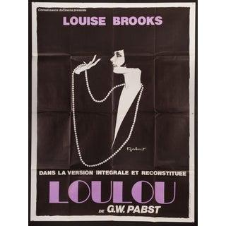 "Vintage ""Pandora's Box"" French Film Poster"