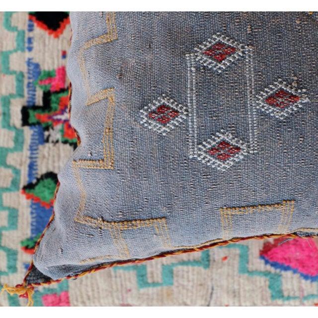 Moroccan Sabra Cactus Lumbar Cushion - Image 6 of 6