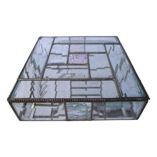 Hand-Crafted Beveled Mirrored Box