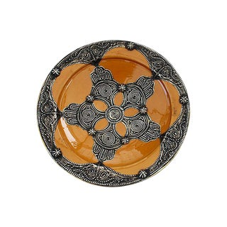 Mustard Moroccan Ceramic Bowl