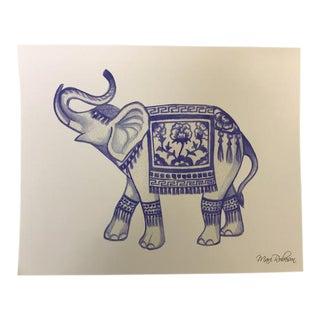 """Blue Elephant"" by Mari Robeson"