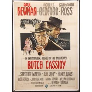 "Italian ""Butch Cassidy & the Sundance Kid"" Poster"