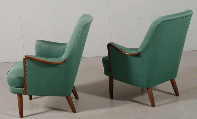Danish Modern Architect Designed Chairs A Pair Chairish