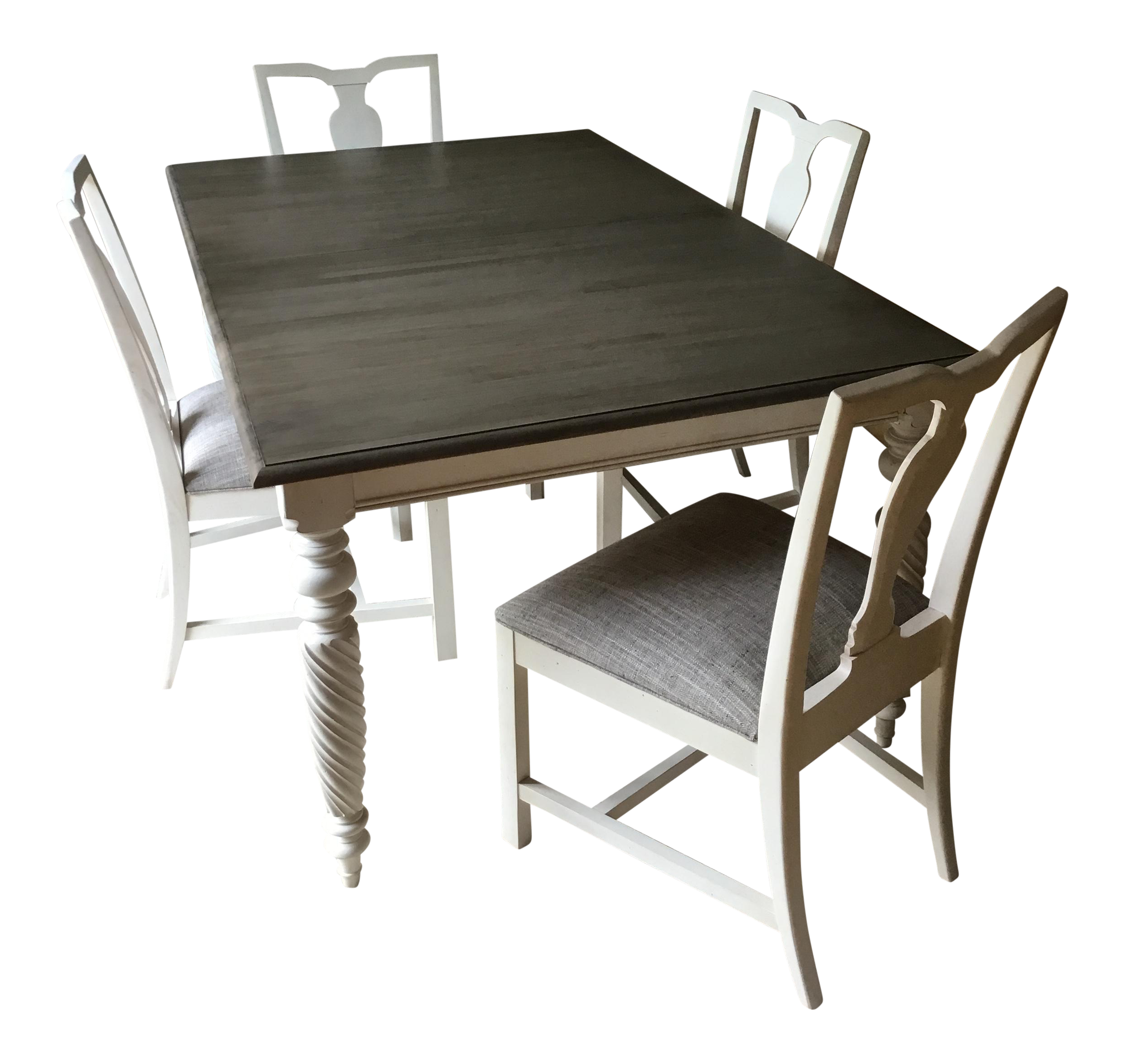 ethan allen dining table u0026 chairs set