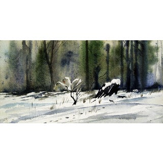 Two-Sided Winter & Summer Painting