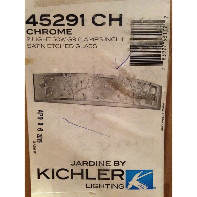 Kichler Jardine 2 Light Sconce - a Pair - Image 6 of 6