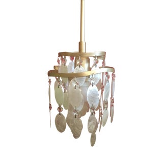 Dolce Capiz Shell Mini Pendant Light