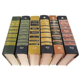 Reader's Digest Condensed Novels - Set of 6
