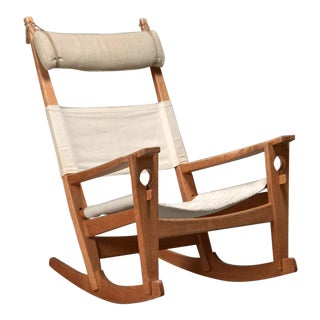 Hans Wegner Keyhole Rocking Chair