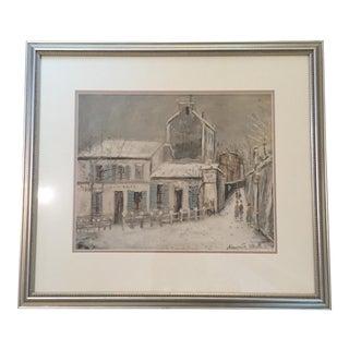 Maurice Utrillo Framed Print