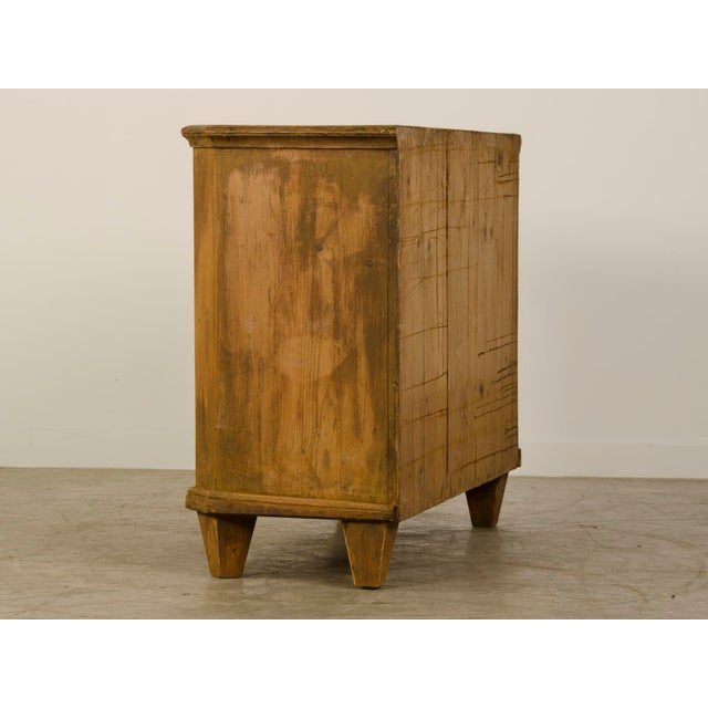 Antique German Neoclassical Bas d'Armoire or Buffet, Original Paint, circa 1780 - Image 4 of 10
