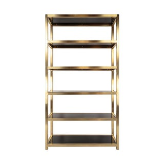 Couture Musette Gold Bookcase