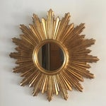 Image of Italian Gilt Sunburst Mirror