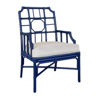 Selamat Designs Regeant Arm Chair - Blueberry