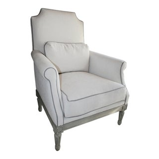 Transitional Trianon Arm Chair