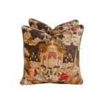 Image of Designer French Versailles Toile Pillows - Pair