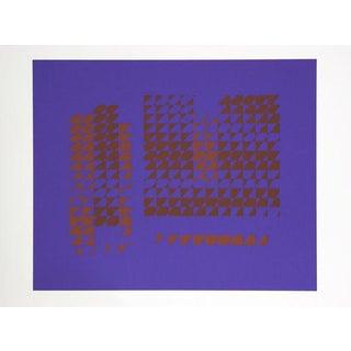 "Josef Albers ""Portfolio 2, Folder 15, Image 2"" Print"