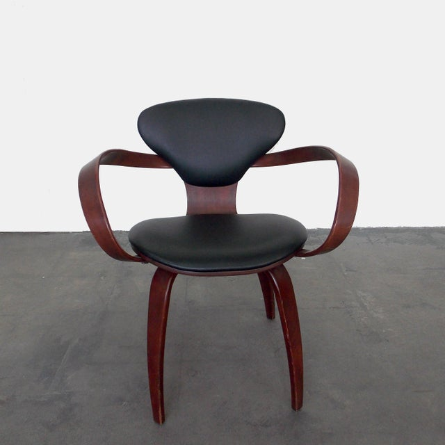 Image of Bentwood Pretzel Arm Chairs - A Pair