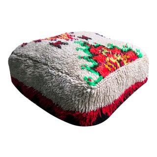 Abstract Moroccan Floor Cushion