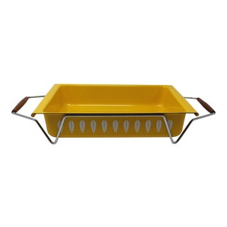 Cathrineholm Yellow Lasagna Pan With Cradle