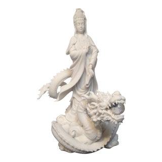 Quan Yin & Dragon Figure