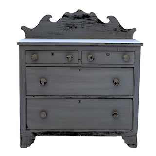 Farmhouse Grey Cottage Chest