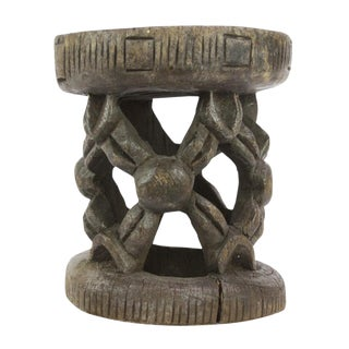 Dayo Tribal Carved Stool