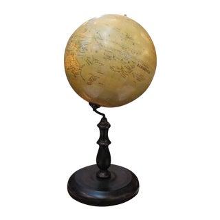 1880s Obraz Zemekoule Globe