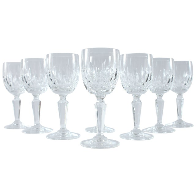 Petite French Champagne Glasses - Set of 8 - Image 1 of 3