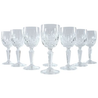 Petite French Champagne Glasses - Set of 8