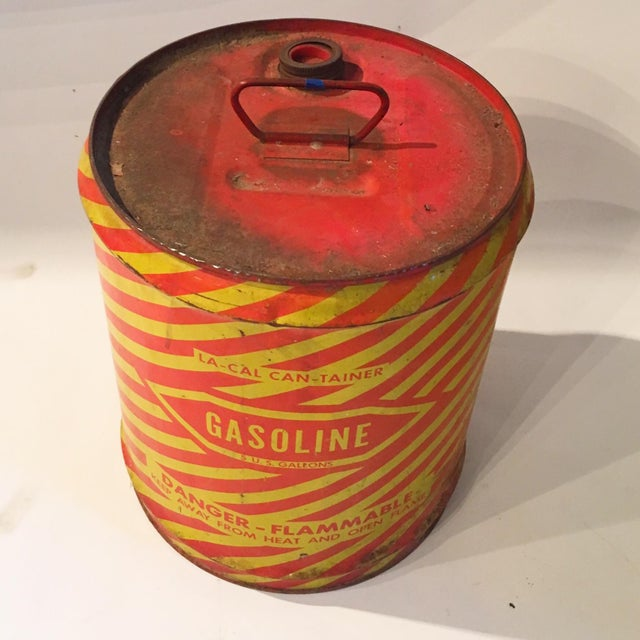 Vintage Industrial Gasoline Can - Image 3 of 4