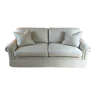 Baker Furniture Custom Sofa With Bill Sofield Fabric