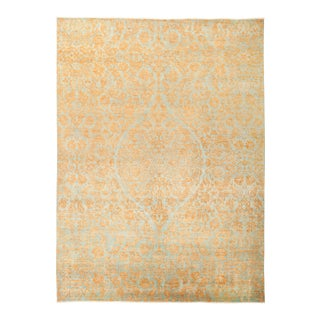 """Suzani Hand Knotted Area Rug - 10' 1"""" X 13' 6"""""""