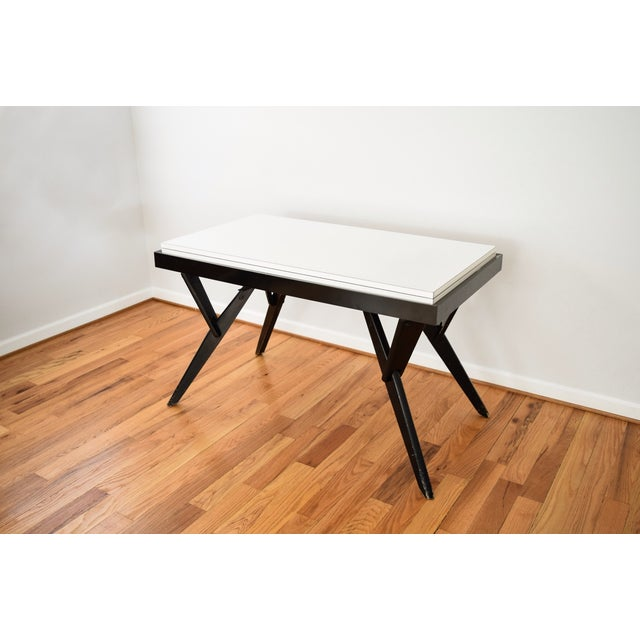 Mid Century Castro Convertible Coffee/Dining Table - Image 4 of 8