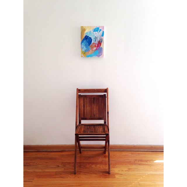 """Image of Dani Schafer """"Don't Want to Wait"""" 2015 Painting"""