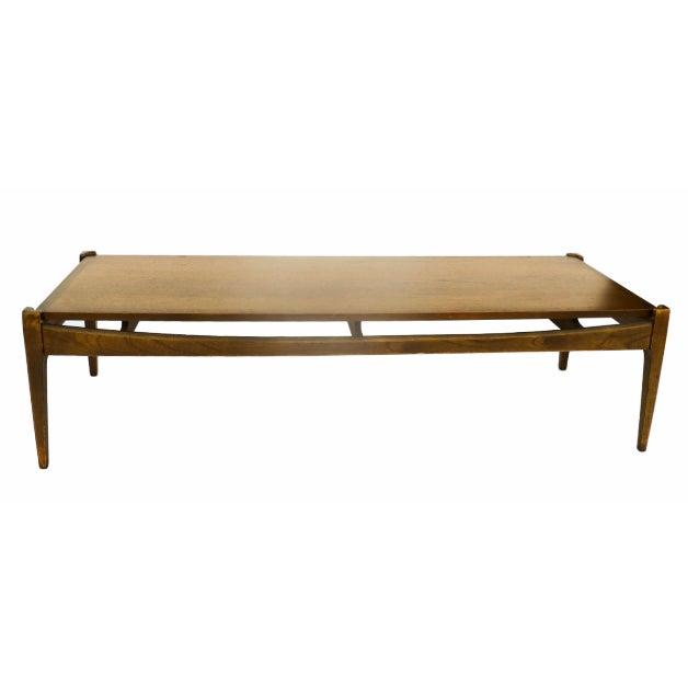 Bassett Mid-Century Modern Coffee Table - Image 1 of 10