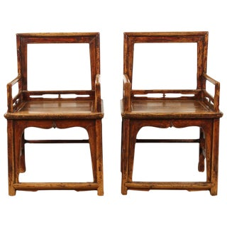 Pair of Southern Official Arm Chairs