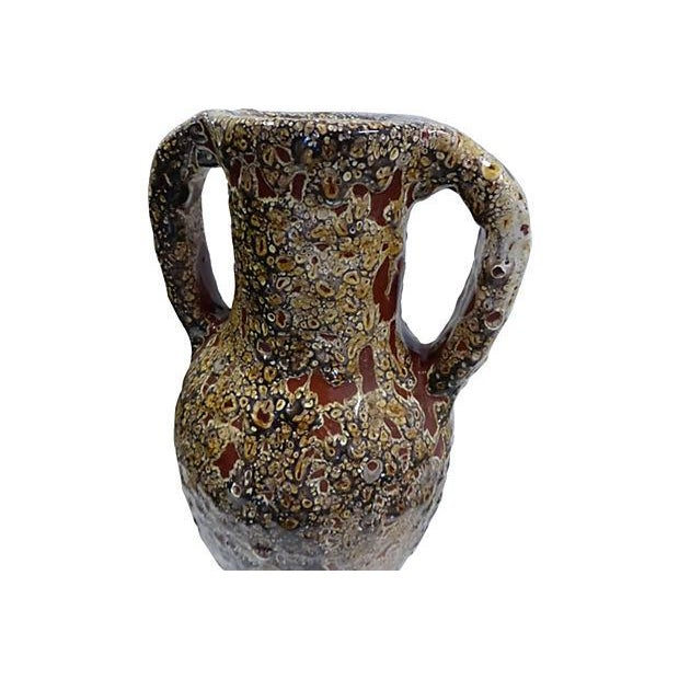 Handmade Two Handle Vase - Image 5 of 5