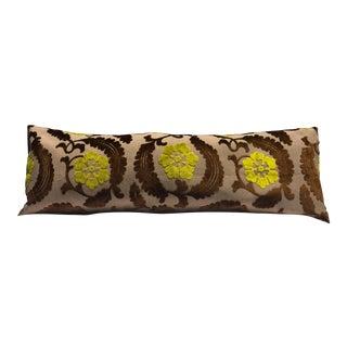Velvet & Mohair Accent Pillow Cover