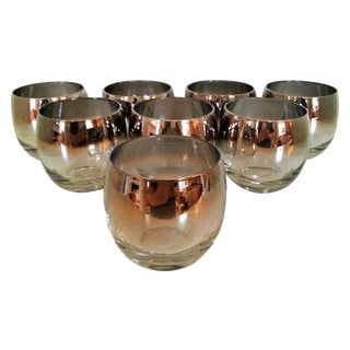 Silver Fade Roly Polys Barware - Set of 8