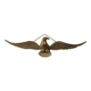 Vintage Brass Eagle Decorative Hanging