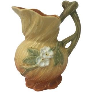 Vintage Weller Wild Rose Pottery Pitcher