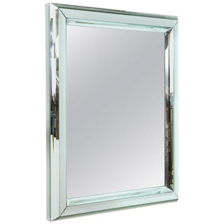Large All-Glass Wall Mirror
