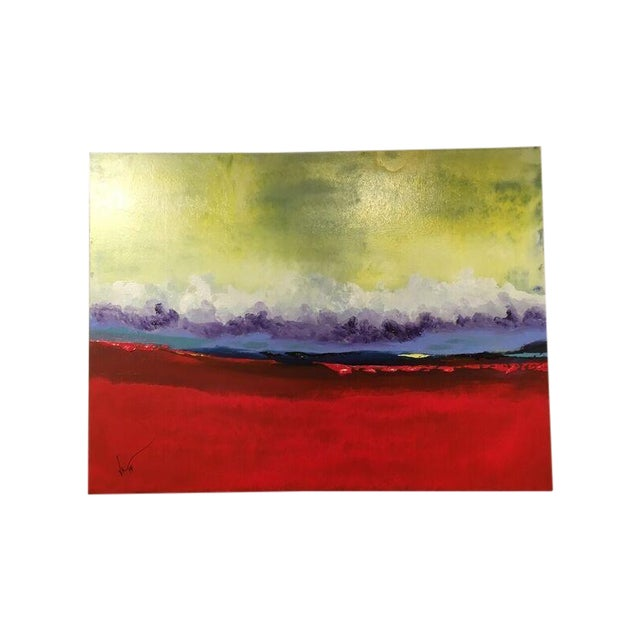 """Image of Vincent Golshani """"Southern Rain"""" Painting"""