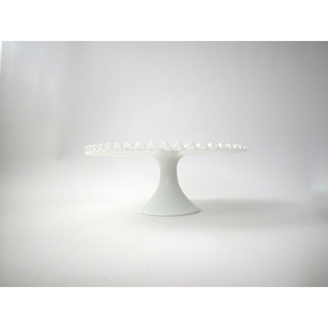 Fenton Silver Crest Cake Stand - Image 7 of 7
